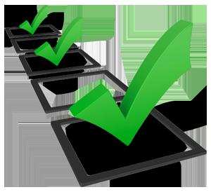 Checklist - Metas